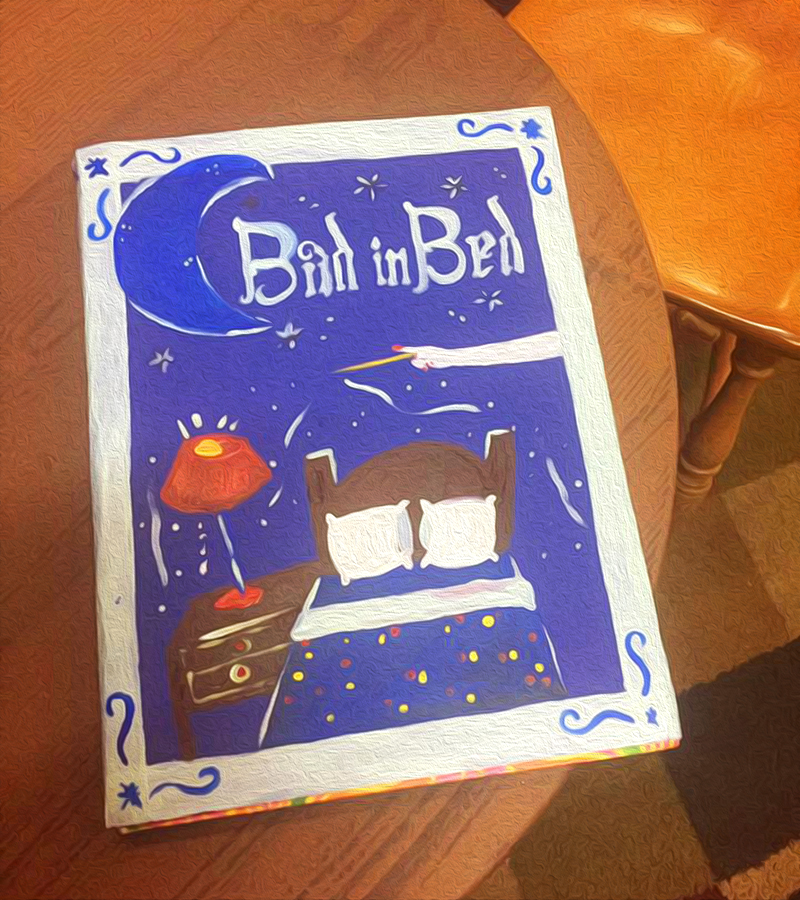 Bad in Bed book